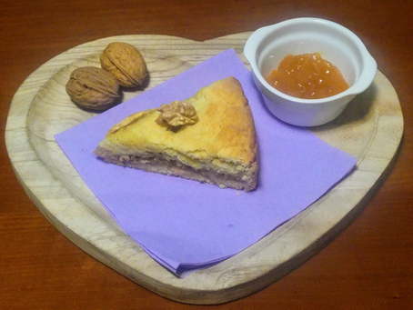 Jam, Walnut, and Apple Pie