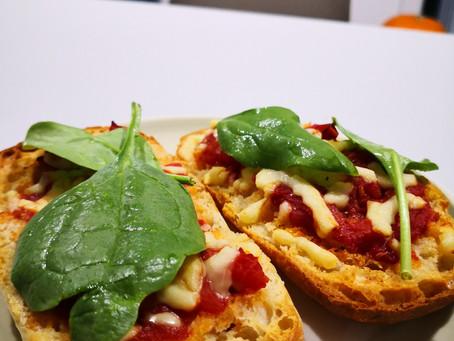 Tomato and Cheese Ciabatta