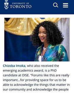 UofT African Alumni Awards Night