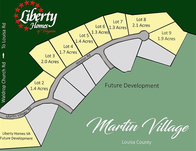 Martin Village Subdivision Marketing Pla
