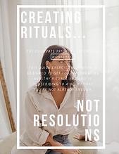 FREE Rituals 2020 Workbook by Vanessa De