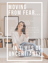 FREE Fear To Freedom 2020 Workbook by Va