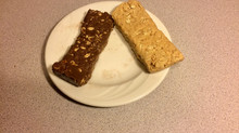 Homemade, no bake high protein energy bars