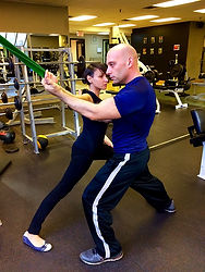 Woman Stretching Mississauga Personal Trainer