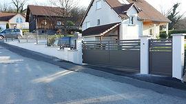 Clôtures portails Doubs Jura pontarlier besancon