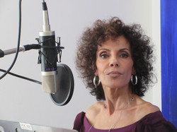 Jerri Bo Keno Recording Vocals for Standing On The Edge Of Life