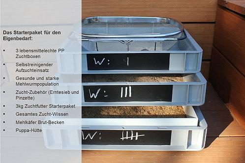 Starterset Eigenbedarf für Mehlwürmer