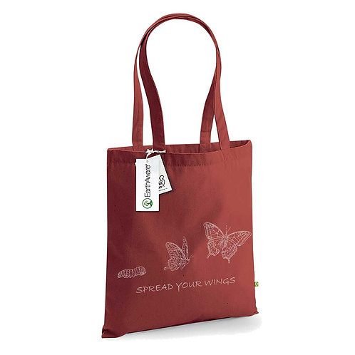 Organic Shopper Brick - Farfalla