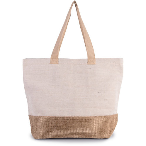 Holiday Beach Bag Natural