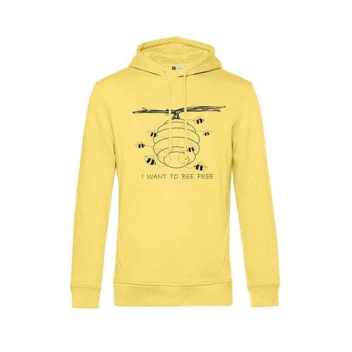 Organic Hoodie Yellow - Api