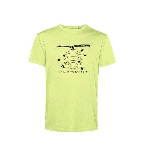 Organic T-shirt Lime - Api