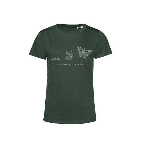 Organic Woman T-shirt Forest - Farfalla