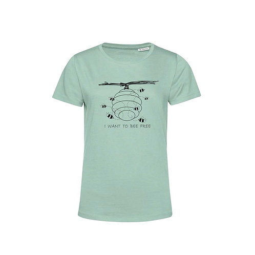 Organic Woman T-shirt Sage - Api