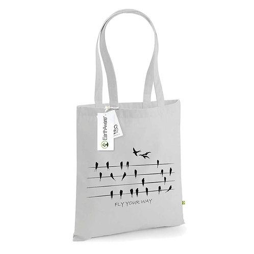 Organic Shopper Grey - Rondini
