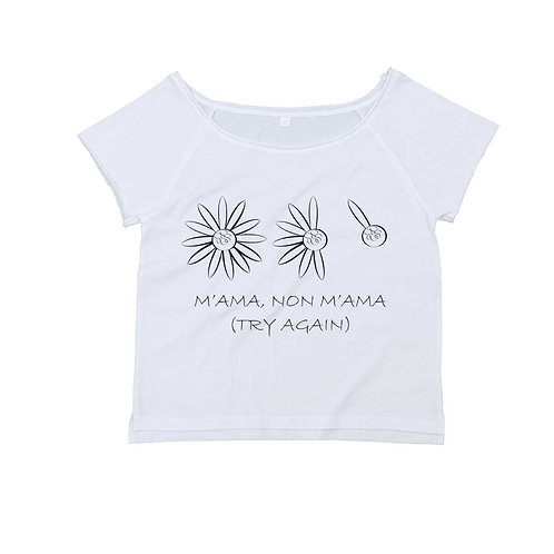 Organic Dance T-shirt White - Margherita