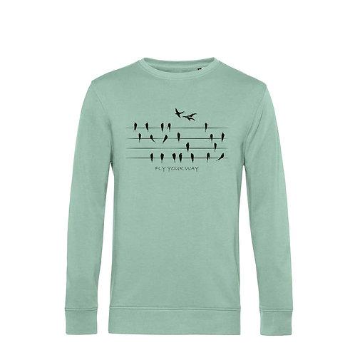 Organic Sweatshirt Sage - Rondini