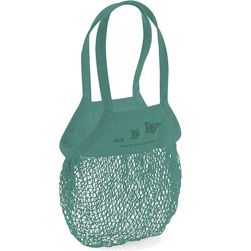 Organic Shopping Bag Sage - Farfalla
