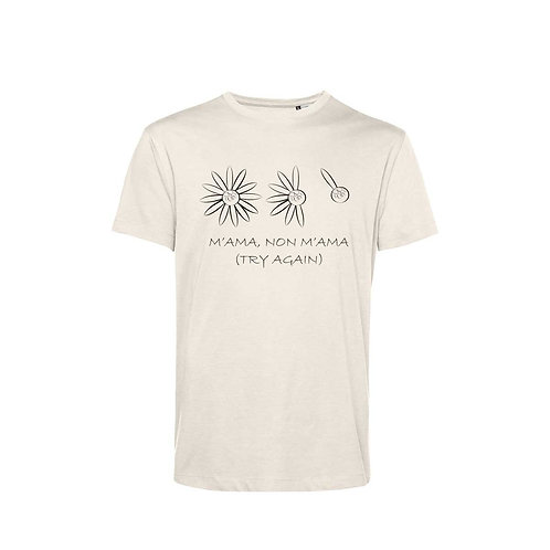 Organic T-shirt Natural  - Margherita