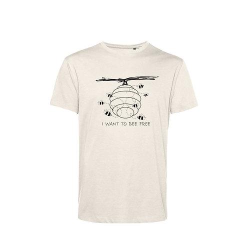 Organic T-shirt Natural  - Api