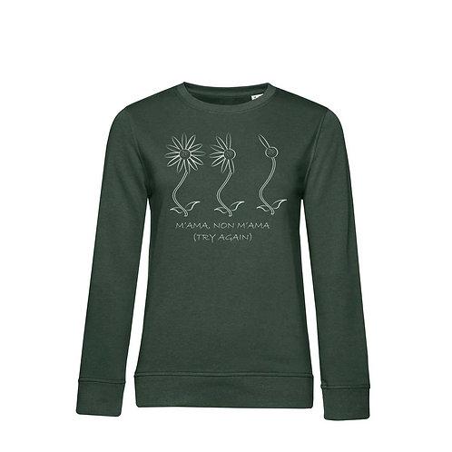 Organic Woman Sweatshirt Forest - Margherita