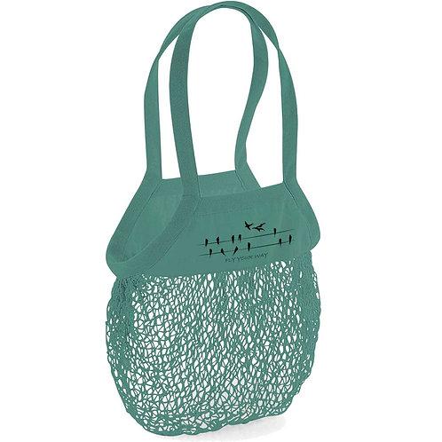 Organic Shopping Bag Sage - Rondini