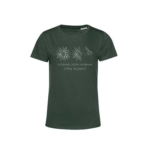 Organic Woman T-shirt Forest- Margherita