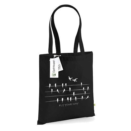 Organic Shopper Black - Rondini