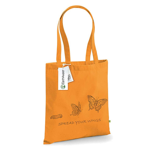 Organic Shopper Amber - Farfalla