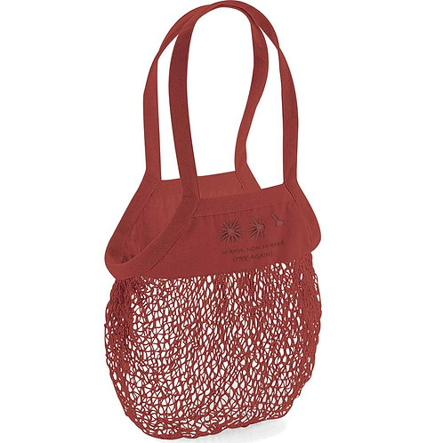 Organic Shopping Bag Brick - Margherita