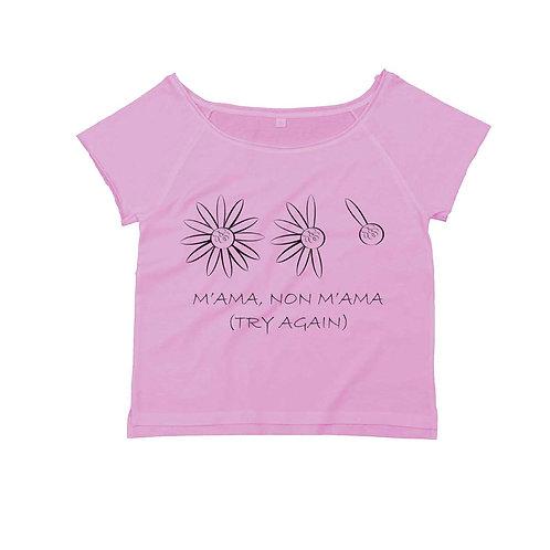 Organic Dance T-shirt Soft Pink - Margherita