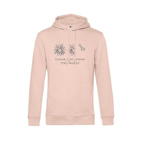 Organic Hoodie Soft Pink - Margherita