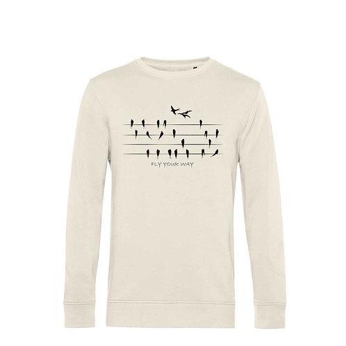 Organic Sweatshirt Natural - Rondini