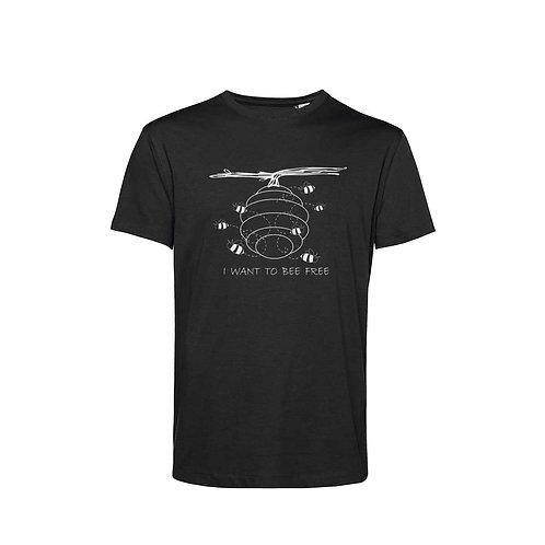 Organic T-shirt Black - Api
