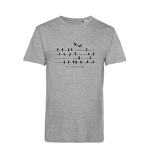 Organic T-shirt Grey - Rondini