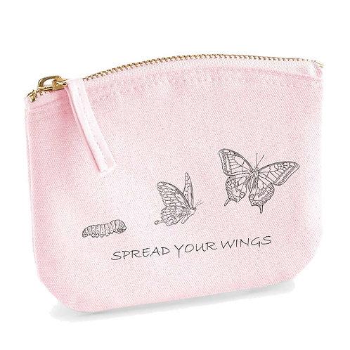 Organic Trousse Soft Pink - Farfalla