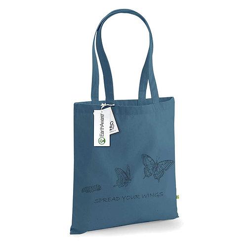 Organic Shopper Airforce Blue - Farfalla