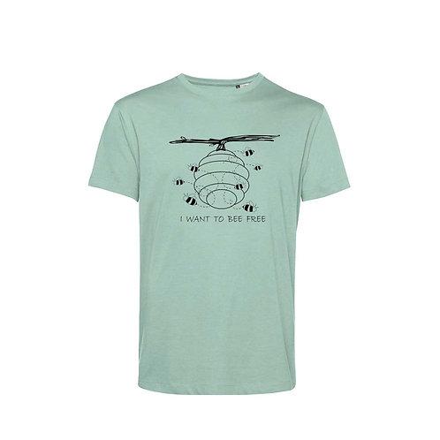 Organic T-shirt Sage - Api
