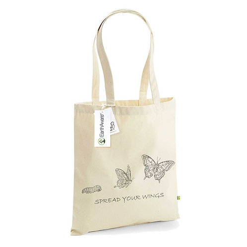 Organic Shopper Natural - Farfalla