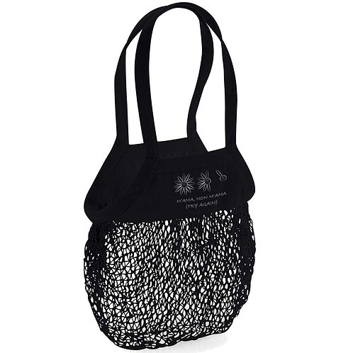 Organic Shopping Bag Black - Margherita