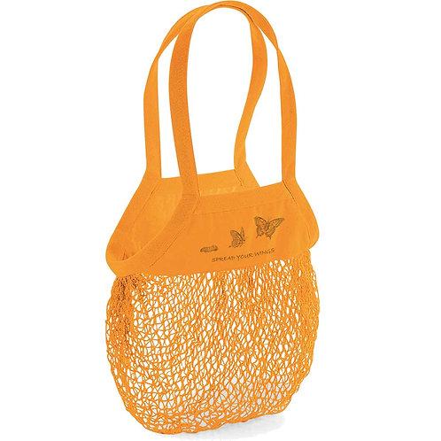 Organic Shopping Bag Amber - Farfalla