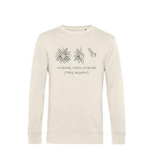 Organic Sweatshirt Natural - Margherita