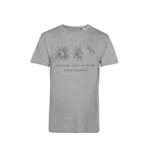Organic T-shirt Grey - Margherita