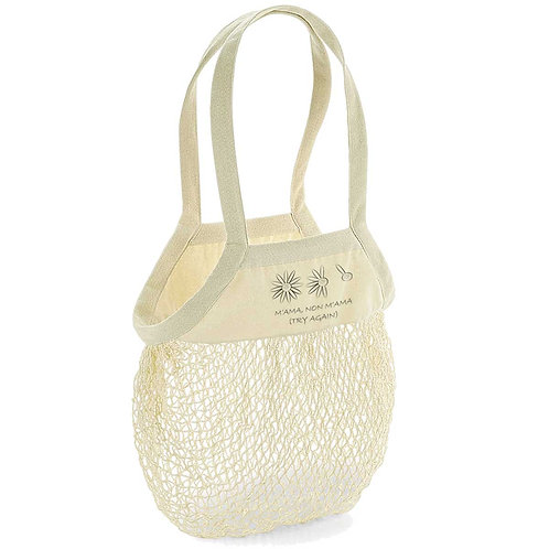 Organic Shopping Bag Natural - Margherita