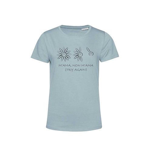 Organic Woman T-shirt Blue Fog - Margherita
