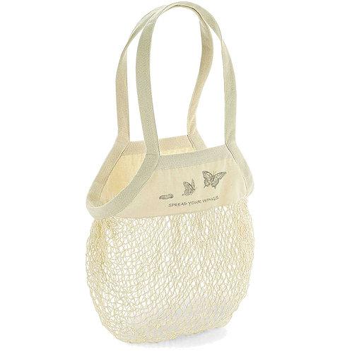 Organic Shopping Bag Natural - Farfalla