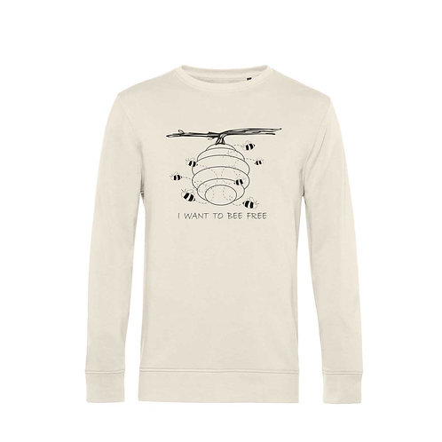Organic Sweatshirt Natural - Api