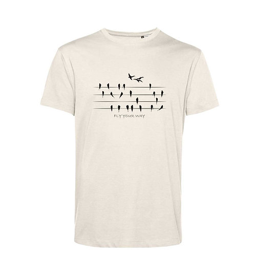 Organic T-shirt Natural  - Rondini
