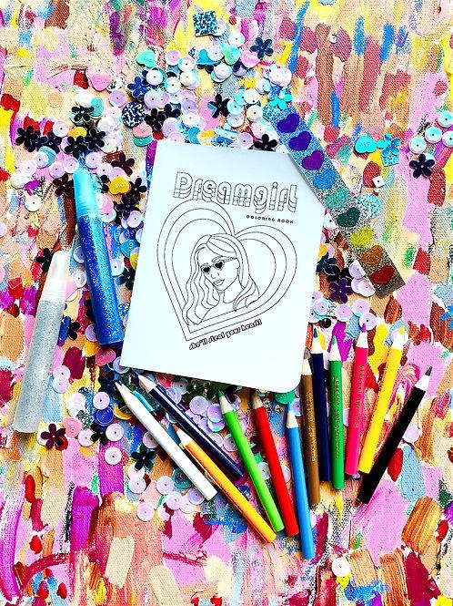 Dreamgirl Coloring Kit
