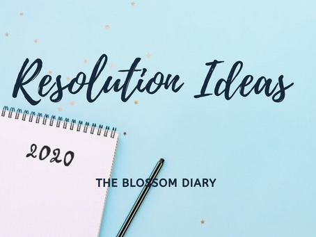 Resolution Ideas for 2020