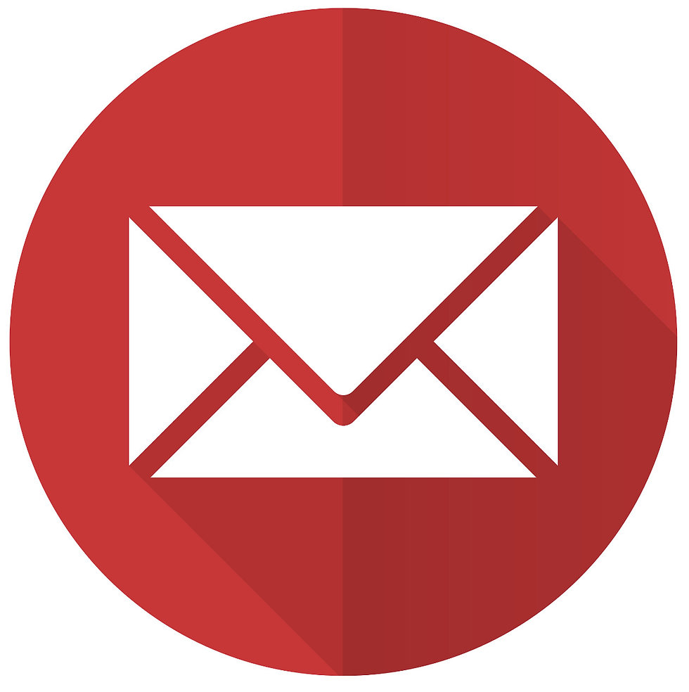 email red flat icon post sign _edited